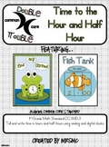 Common Core Double Trouble: Time to the Hour and Half Hour