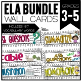 Common Core ELA Cards 3-5 Mega Pack