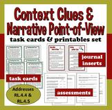 Common Core ELA Task Cards + Printables set –Narrative PO