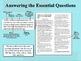 Common Core Expository News Writing Tutorial & Activities