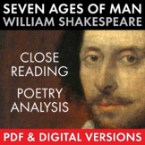 """Common Core Extended Metaphor Lesson using Shakespeare's """""""