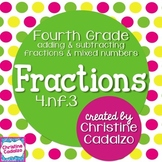 Common Core Fractions Lesson Plan Unit: 4th Grade Module A