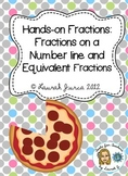 Common Core Fractions: Fractions on Number lines and Equiv
