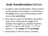 Common Core Geometry. Chapter 7. Similarity