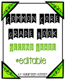 Common Core Grade Book 2nd Grade *Editable