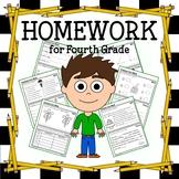 Common Core Homework for Fourth Grade