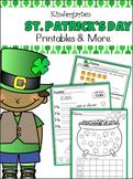 St. Patrick's Day Unit - Kindergarten - CCSS Aligned