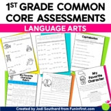 Common Core Language Arts Assessments for 1st Grade