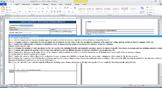 Common Core Lesson Plan ELA Grade 8 w/Standards in Drop Do
