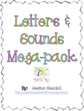 Common Core Letter and Sounds Mega Pack