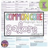 Common Core MATH and ELA Galore {Kindergarten Checklist}