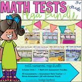 Common Core Math 3rd Grade Assessment MEGA BUNDLE: Units 1-7