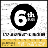 Common Core Math 6th Grade Endless Bundle