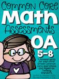 Common Core Math Assessments- First Grade OA (1.OA.5, 1.OA