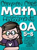 Common Core Math Assessments- First Grade OA (1.OA.5, 1.OA