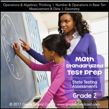 Common Core Math Assessments Grade 2 (ALL STANDARDS PACK)