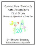 Common Core Math Assessments- Numbers & Operations in Base