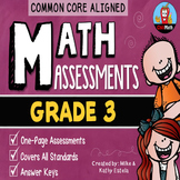 Common Core Math Assessments {Grade 3}