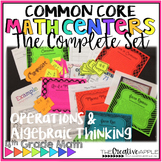 Common Core Math Centers: Operations & Algebraic Thinking-