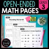 Common Core Math Outside of the Box (Grade 3)