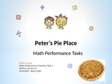 PowerPoint Common Core Math Performance Task Lessons