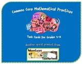 Common Core Standards for Mathematical Practice Task Cards