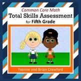 No Prep Math Assessment (5th Grade Common Core)