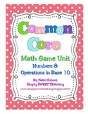 Common Core Math Tubs for First Grade (Numbers & Operation