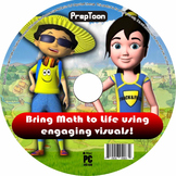 Math animations of word problems - 6th grade CCSS ALIGNED