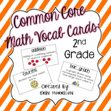 Common Core Math Vocabulary Cards: Grade 2