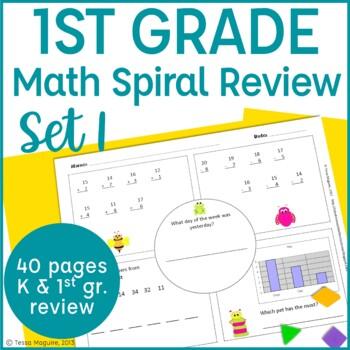 Common Core Math Warm Up/Morning Work- 1st Grade
