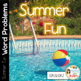 Common Core Math Word Problems for Summer Fun