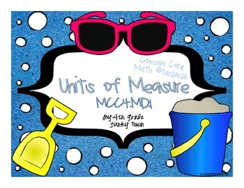 Common Core: Measurement and Data: Units of Measurement