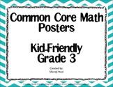 Common Core Posters - 3rd Grade Math