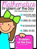 Mathematics Problem of the Day {Kindergarten Version}