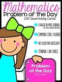 Mathematics Problem of the Day {Kindergarten Version}