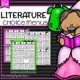 Choice Boards Literature
