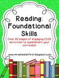 Common Core Reading Foundational Skills Activity Pack
