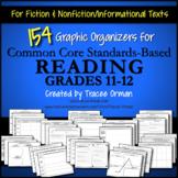Common Core Reading Graphic Organizers Gr 11-12