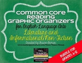 Common Core Reading Lit & NonFiction Graphic Organizers {G