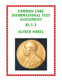 Common Core Informational Passage and Assessment: RI.5.3