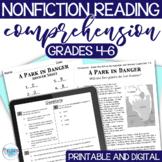 Reading Test Prep - NON-FICTION Comprehension Passages/Que
