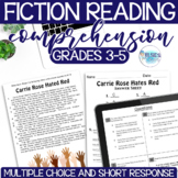 Reading Test Prep - FICTION Comprehension Passages - Grade