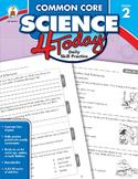 Common Core Science 4 Today Grade 2 SALE 20% OFF CD-104813