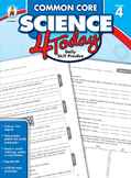 Common Core Science 4 Today Grade 4 SALE 20% OFF CD-104815