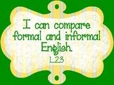 Common Core Second Grade Standards - LANGUAGE Part 2