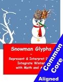 Common Core Snowman Glyphs for Grades K-6