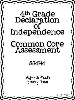 Common Core: Social Studies: Declaration of Independence C