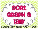 Common Core Sort, Graph, & Tally