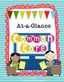 Common Core Standards At A Glance K-5